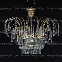 Люстра хрустальная Акация № 4-1 лампа