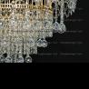 Люстра хрустальная Акация № 4-4 лампы