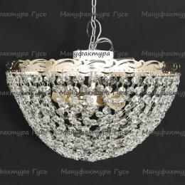 Люстра хрустальная Анжелика 3 лампы Сетка