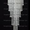 Люстра хрустальная Капель-лепесток  5 ламп шар 30 мм длинная