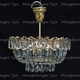 Люстра хрустальная Катерина 1 лампа подвес