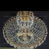 Люстра хрустальная Катерина с подвесом 5 ламп пластина