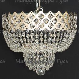 Люстра хрустальная Корона № 2 1 лампа