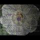 Люстра хрустальная Космос № 2 фиолетовая