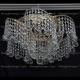 Люстра хрустальная Космос шар 30 мм