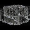 Люстра хрустальная Космос конус 40 мм