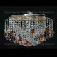 Люстра хрустальная Космос шар 40 мм чайная