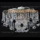 Люстра хрустальная Космос шар 40 мм черная