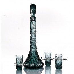 Хрустальный набор «Ликерный» (графин, 6 стаканов)