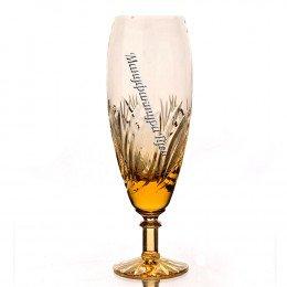 Хрустальный набор бокалов для шампанского «Решка»