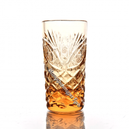 Хрустальный стакан Пальчик рис.Фараон