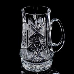 Хрустальная кружка для пива 900/44