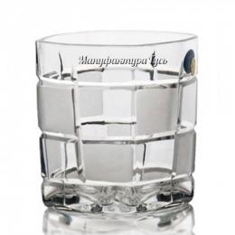 Хрустальный набор  стаканов для напитков широкий 900/176