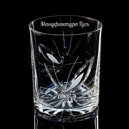 Хрустальный набор стаканов для виски, низкий 330г 900/43