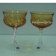 Хрустальный набор фужеров для шампанского «Тюльпан»