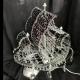 Хрустальная настольная лампа Фрегат (Кулон 50)
