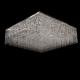 Люстра хрустальная Квадрат 800-800 мм