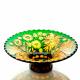 Хрустальная ваза для фруктов «Пальмира» произвольный рис.