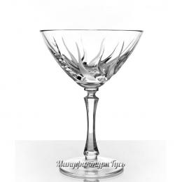"""Хрустальный набор из 2 бокалов для шампанского """"Пламя"""""""