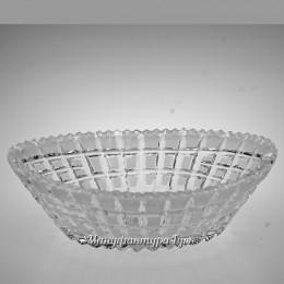 Хрустальный салатник малый БА-1356