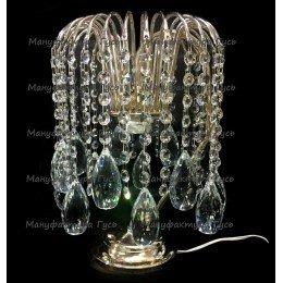 Настольная лампа Каскад камень капля 15 шт
