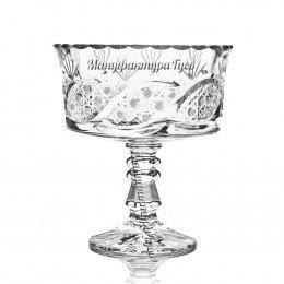 Хрустальная ваза для конфет «Шведка»