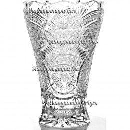 """Хрустальная ваза для цветов """"Чешская"""",  универсальная"""