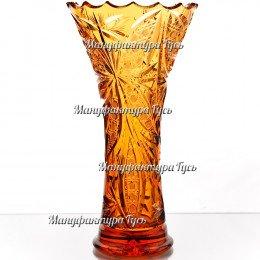 """Хрустальная ваза для цветов """"Лотос"""""""