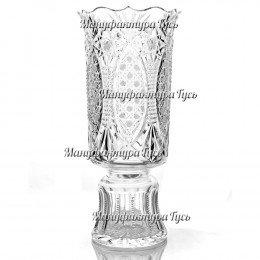 Хрустальная ваза для цветов «Апрель»