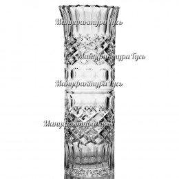 """Хрустальная ваза """"Бисер"""" средняя пр.рис., цв.бесцветный"""