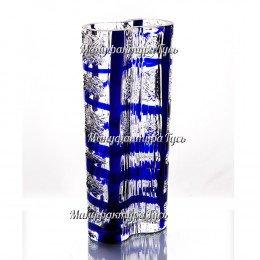 Хрустальная ваза для цветов  «Тандем»