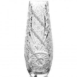 """Хрустальная ваза для цветов """"Капля""""большая, безцветная"""