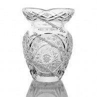 Хрустальная ваза для цветов «Маки» цв.бесцветный