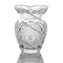 Хрустальная ваза для цветов «Маки» цв.безцветный