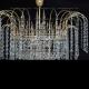 Люстра хрустальная Акация № 3-4 лампы