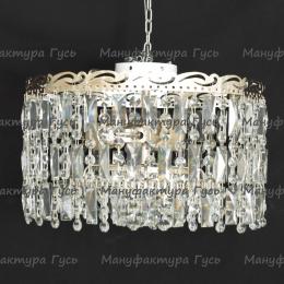 Люстра хрустальная Анжелика 3 лампы + низ № 3