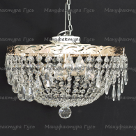 Люстра хрустальная Анжелика 3 лампы журавлик