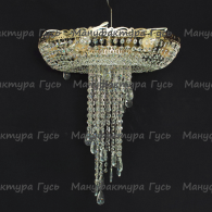 Люстра хрустальная Анжелика 6-8 ламп журавлик