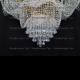 Люстра хрустальная Лотос диам.1000 мм 11 ламп высота 1200 мм