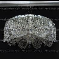 Люстра хрустальная Виктория диам 800 мм 8 ламп
