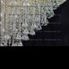 Люстра хрустальная Кольцо + пирамида КОНУС диам.100 мм