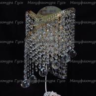 Бра хрустальное Ива № 3 шар 30 мм