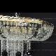 Люстра хрустальная Анжелика  № 1 шар 40 мм черныйч