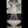 Люстра хрустальная Водопад с подвесом 1000 мм