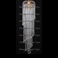 Люстра хрустальная Брызги шампанского шар 30 мм