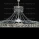 Люстра хрустальная Водопад с подвесом