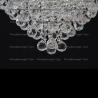 Люстра хрустальная Капель-лепесток  шар 40 мм