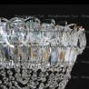 Люстра хрустальная Катерина 1 лампа водоворот
