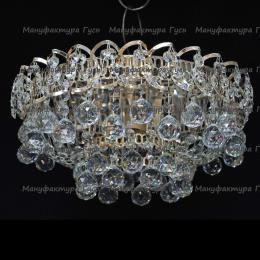 Люстра хрустальная Катерина 1 лампа шар