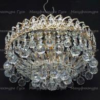 Люстра хрустальная Катерина зеркальная шар 30 и 40 мм